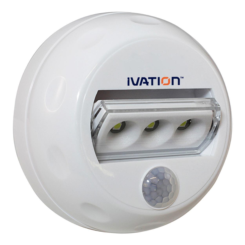 ivation 3 led automatic motion sensing directional night. Black Bedroom Furniture Sets. Home Design Ideas