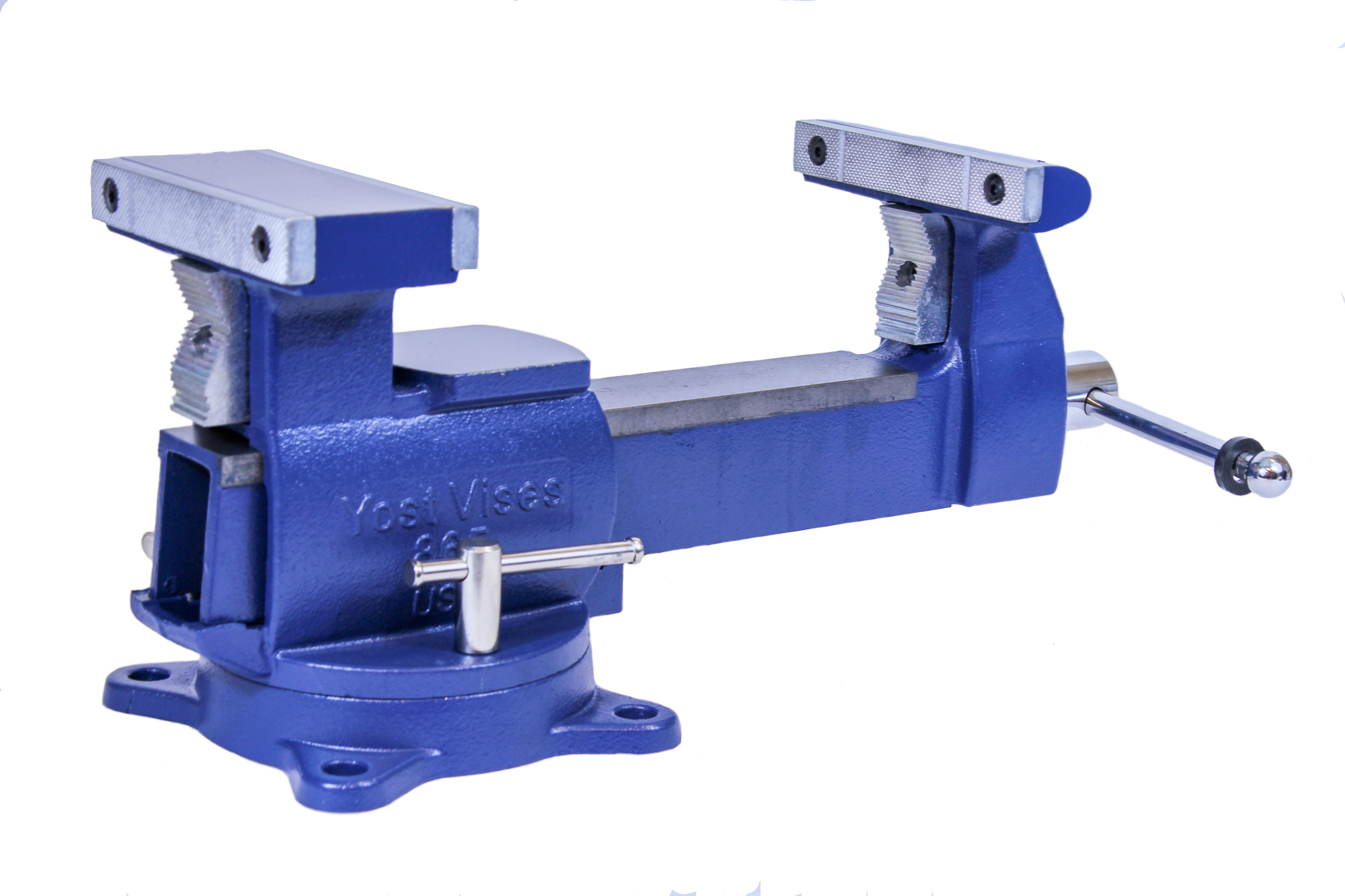 Yost Vises 865 Di 6 5 Heavy Duty Reversible Bench Vise Made In Usa Bench Clamps