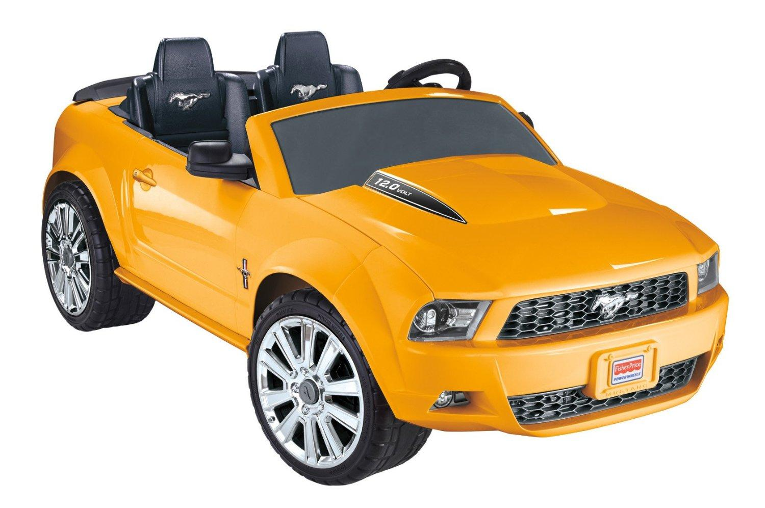 Amazon Com Fisher Price Power Wheels Ford Mustang Amazon