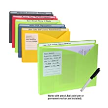 File Jackets with Write-On Technology