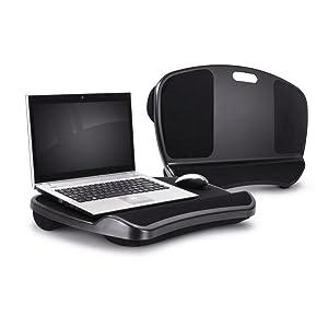 Lap Gear Xl Laptop Lap Desk Bed Pad Wrist Rest Computer