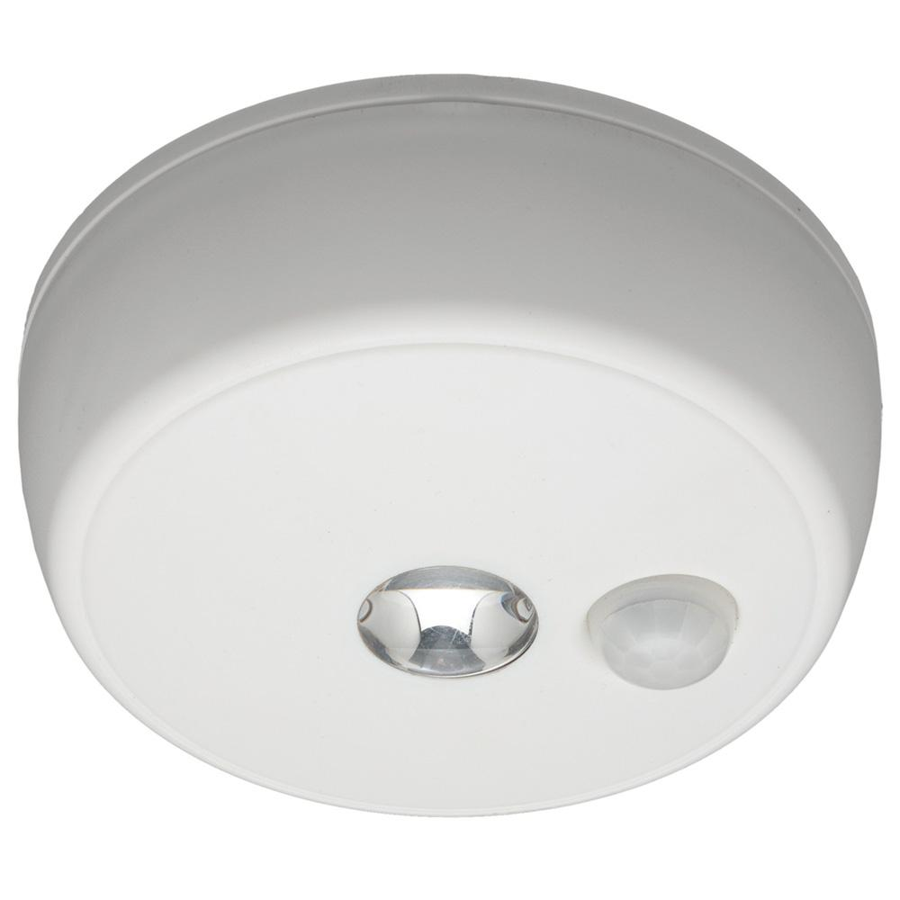 Ceiling Light Motion Sensor Wireless LED Lamp Detection Battery