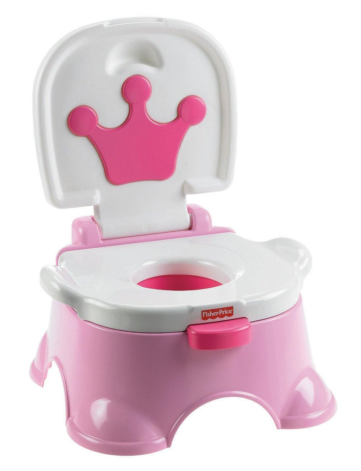 Amazon Com Fisher Price Royal Stepstool Potty Princess
