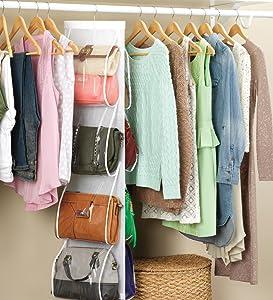 interdesign,jokari,purse organizer,handbag organizer,purse storage,bag organizer,purse rack