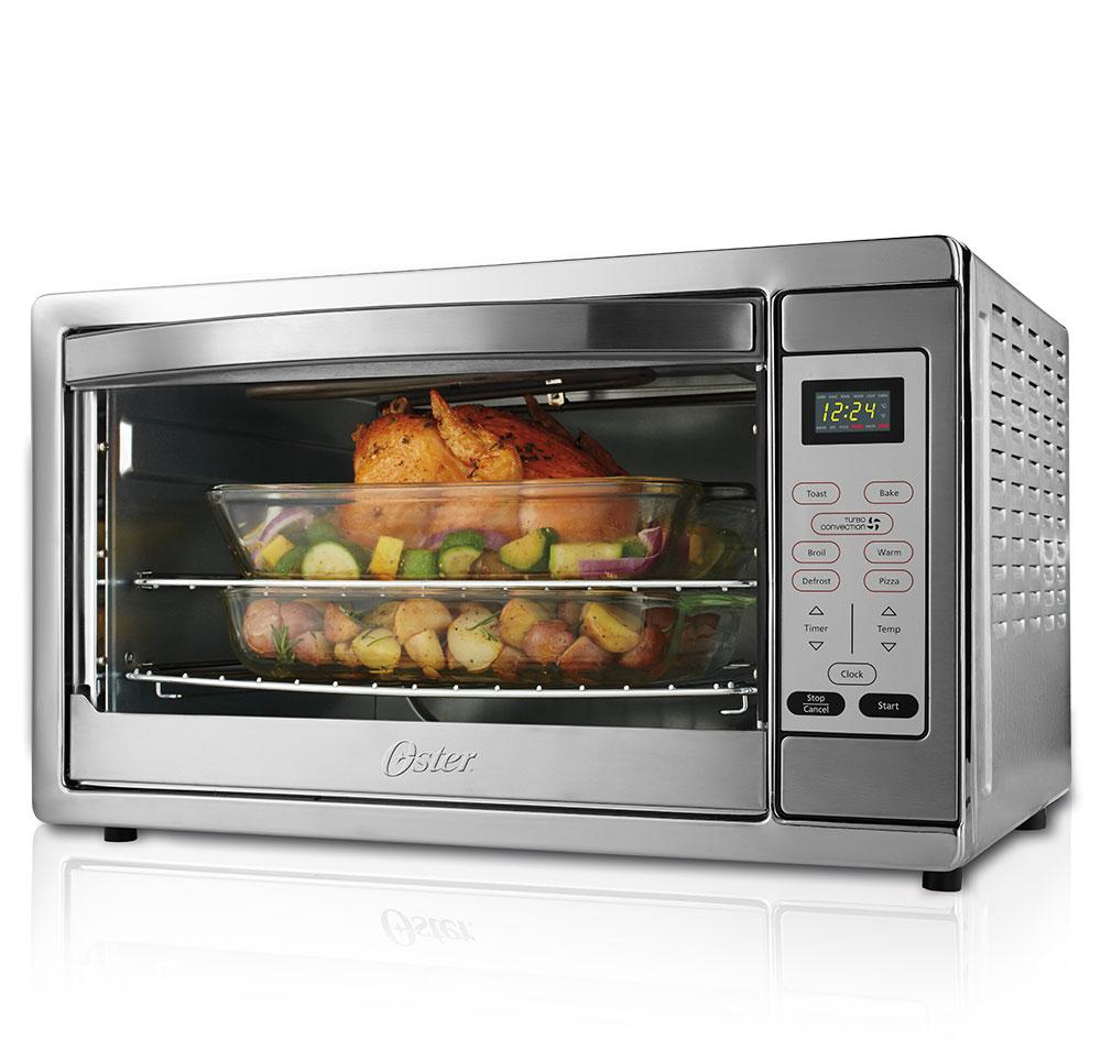 Oster TSSTTVDGXL-SHP Digital Toaster Oven, X-Large, Stainless Steel