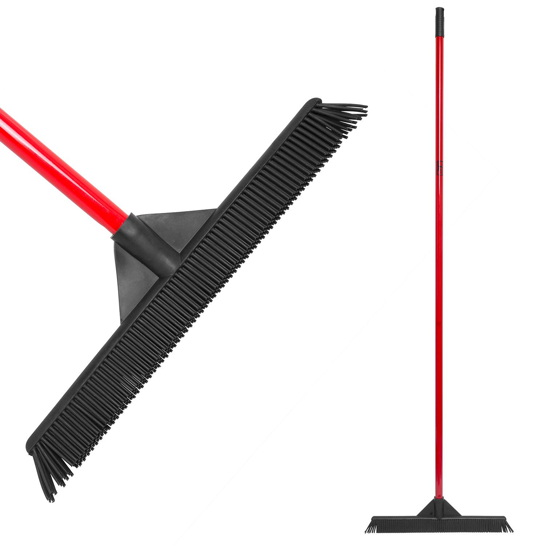 Amazon Com Ravmag Rubber Broom Lightweight Soft