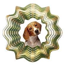 Iron Stop Beagle Wind Spinner