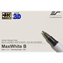 maxwhite b, projection screen, projector, 4k Ultra HD