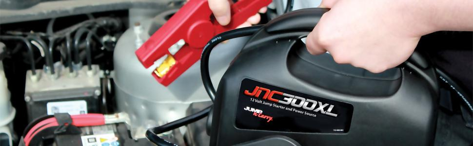 JNC300XL, JNC, jumpstart, Ultra-Portable, Jump-N-Carry