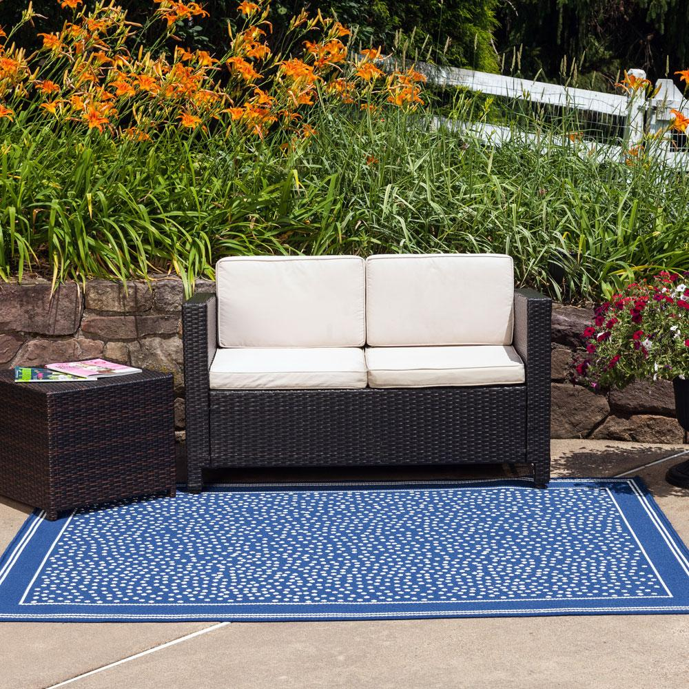 Amazon Budge Twilight Outdoor Patio Rug RUG810GY5