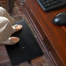 desk mat, heated desk mat, foot mat, boot melting mat, snow melting mat, home mat, office mat
