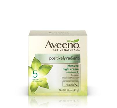 Amazon.com: Aveeno Positively Radiant Intensive Night Cream, 1.7 Ounce