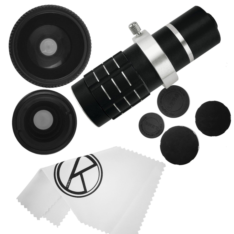 Amazon.com: Camkix Samsung Galaxy S4 Camera Lens Kit including a 12x