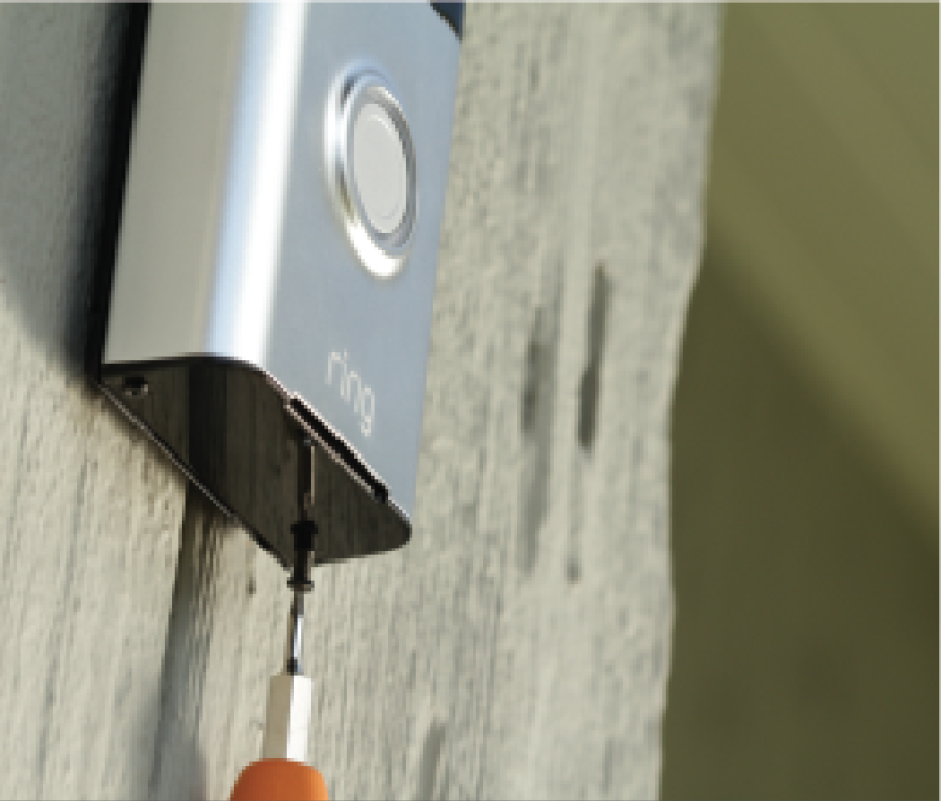 How To Install Ring Wi Fi Enabled Video Doorbell On Stucco