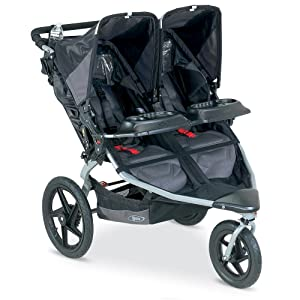 this all terrain double stroller is perfect for families with two little adventurers from 8. Black Bedroom Furniture Sets. Home Design Ideas