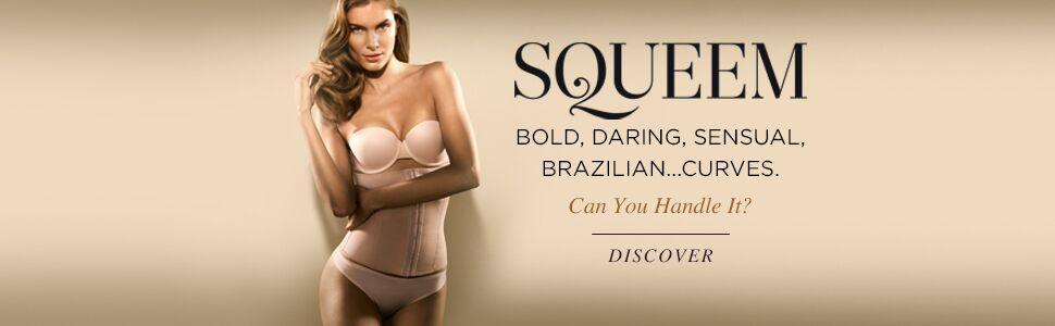 Perfect Waist, Curve Creation, Squeem, Waist Cincher, High Compression, Made in Brazil