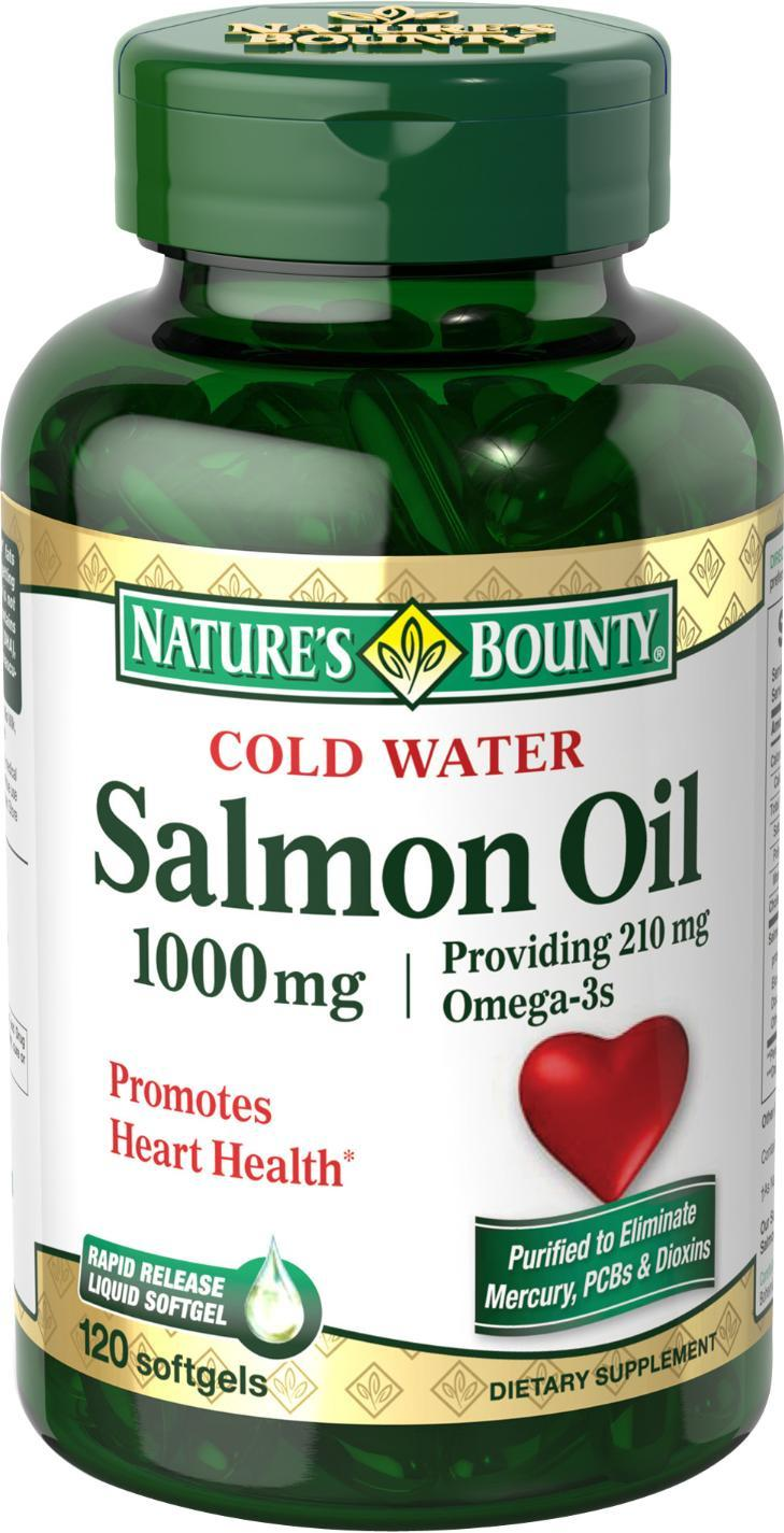 Nature S Bounty Salmon Oil Review
