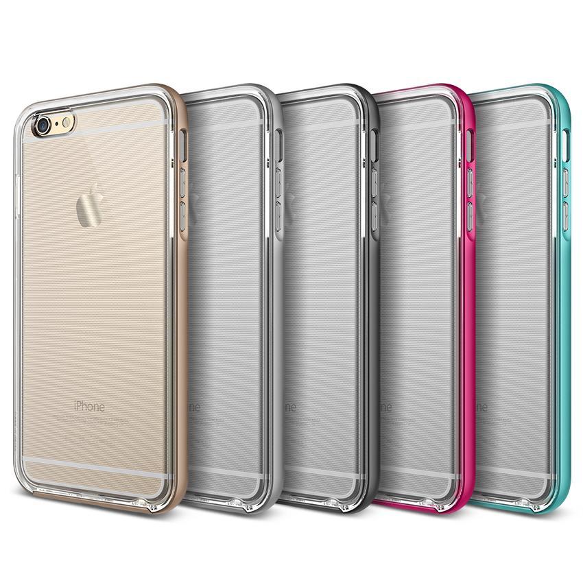Amazon.com: iPhone 6S Case, Verus [Crystal Bumper][Mint] - [Clear