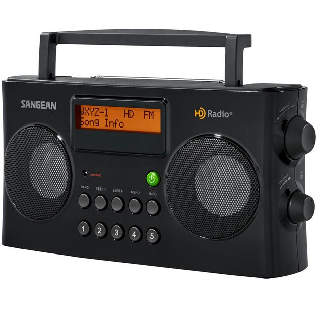 Amazon.com: Sangean HD Radio/FM-Stereo/AM Portable Radio: Electronics