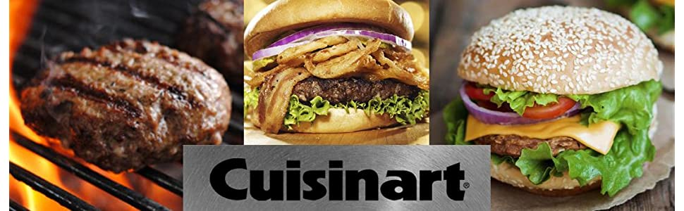 cuisinart stuffed burger press
