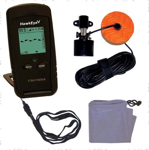 Norcross hawkeye f33p fish finder electronics for Amazon fish finder