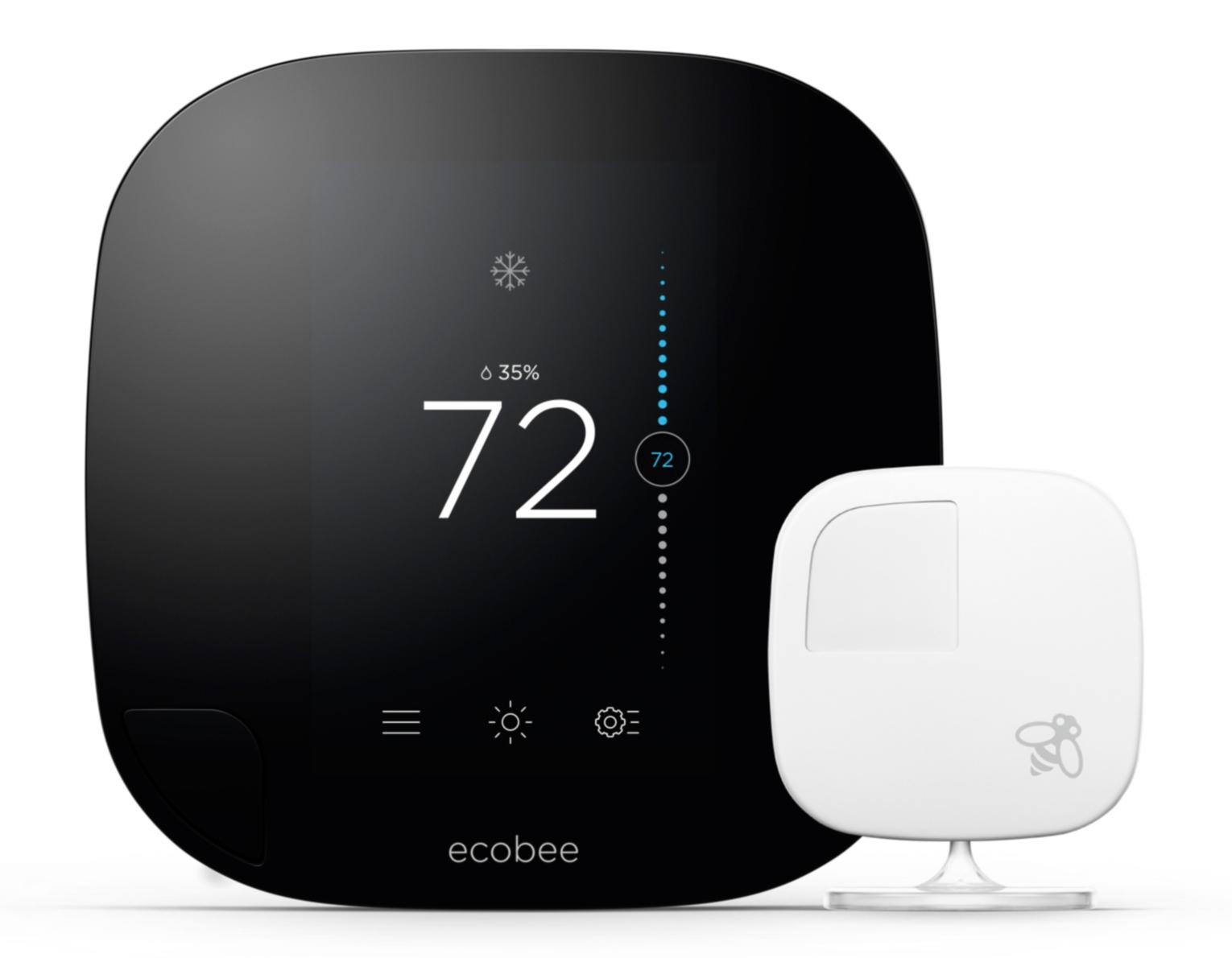 Ecobee3 Smarter Wi Fi Thermostat With Remote Sensor 2nd