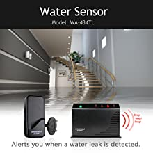 Household Alert Water Leak Sensor