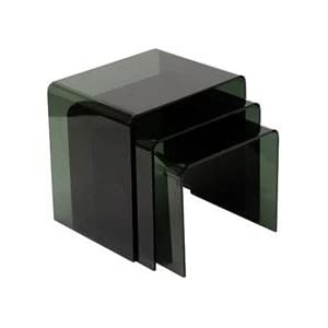 philippe starck, nesting tables, clean, transparent