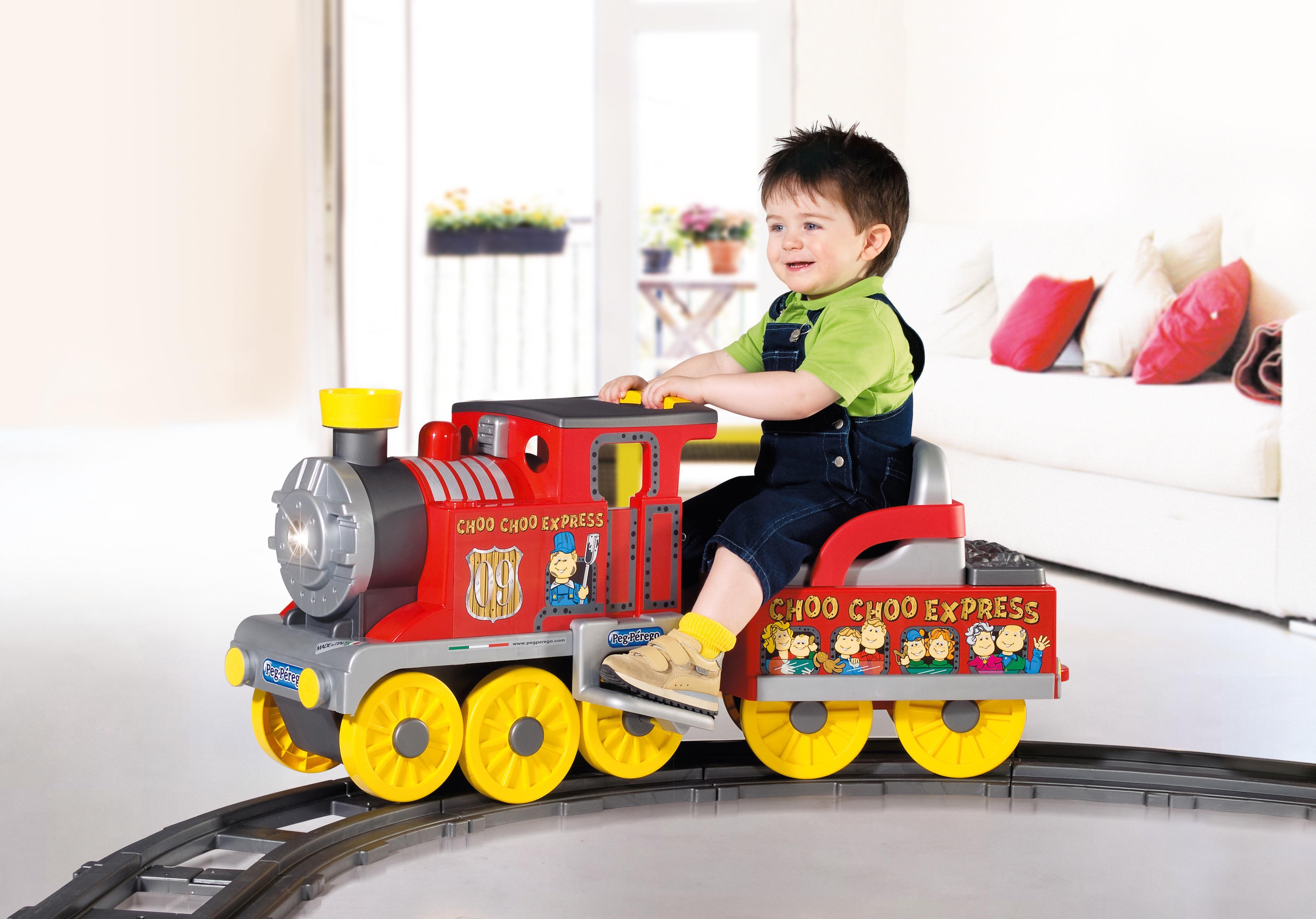 Choo choo express train Motorized kids toys
