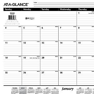 Monthly Calendar, Calendars