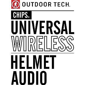 Outdoor Tech OT0032 Chips Universal Wireless Helmet Audio System
