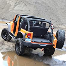 BedTred rugged jeep liner
