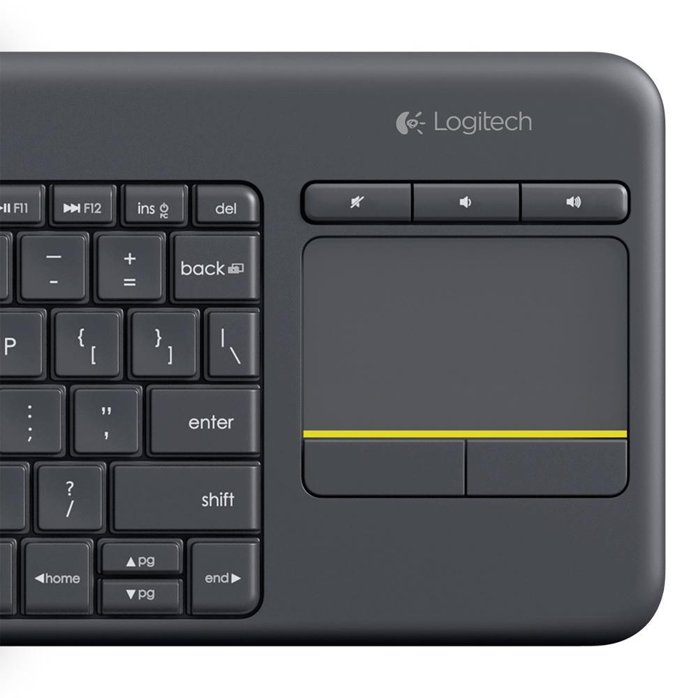 Amazon Logitech Wireless Touch Keyboard K400 Plus