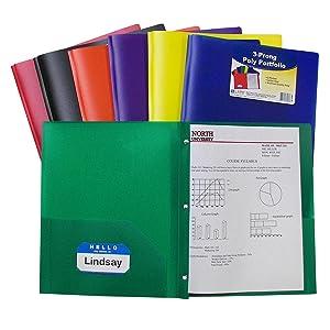Heavyweight Polypropylene Folders Poly Ports