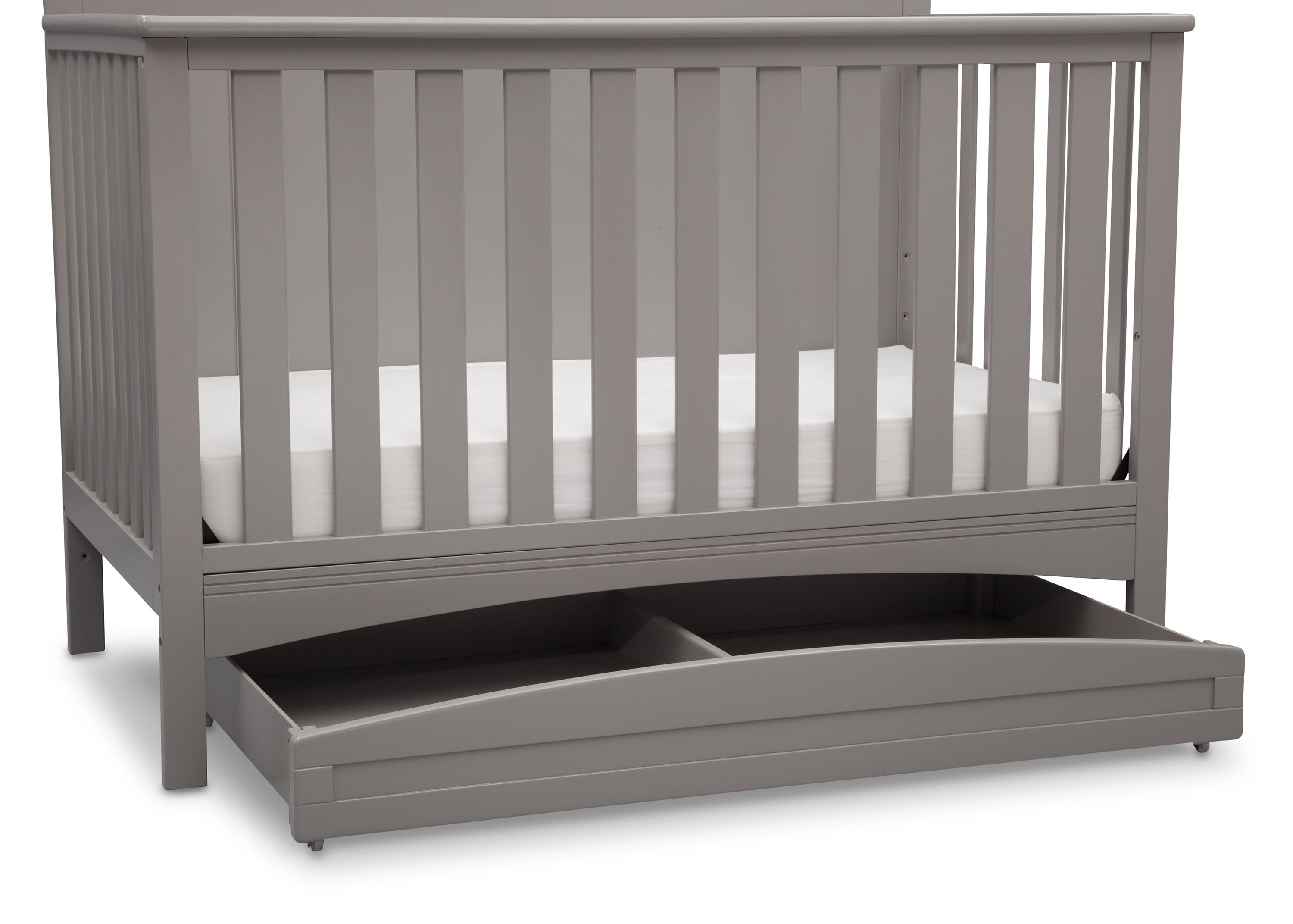 crib trundle bed  creative ideas of baby cribs - trundle nursery storage drawer under bed crib casters