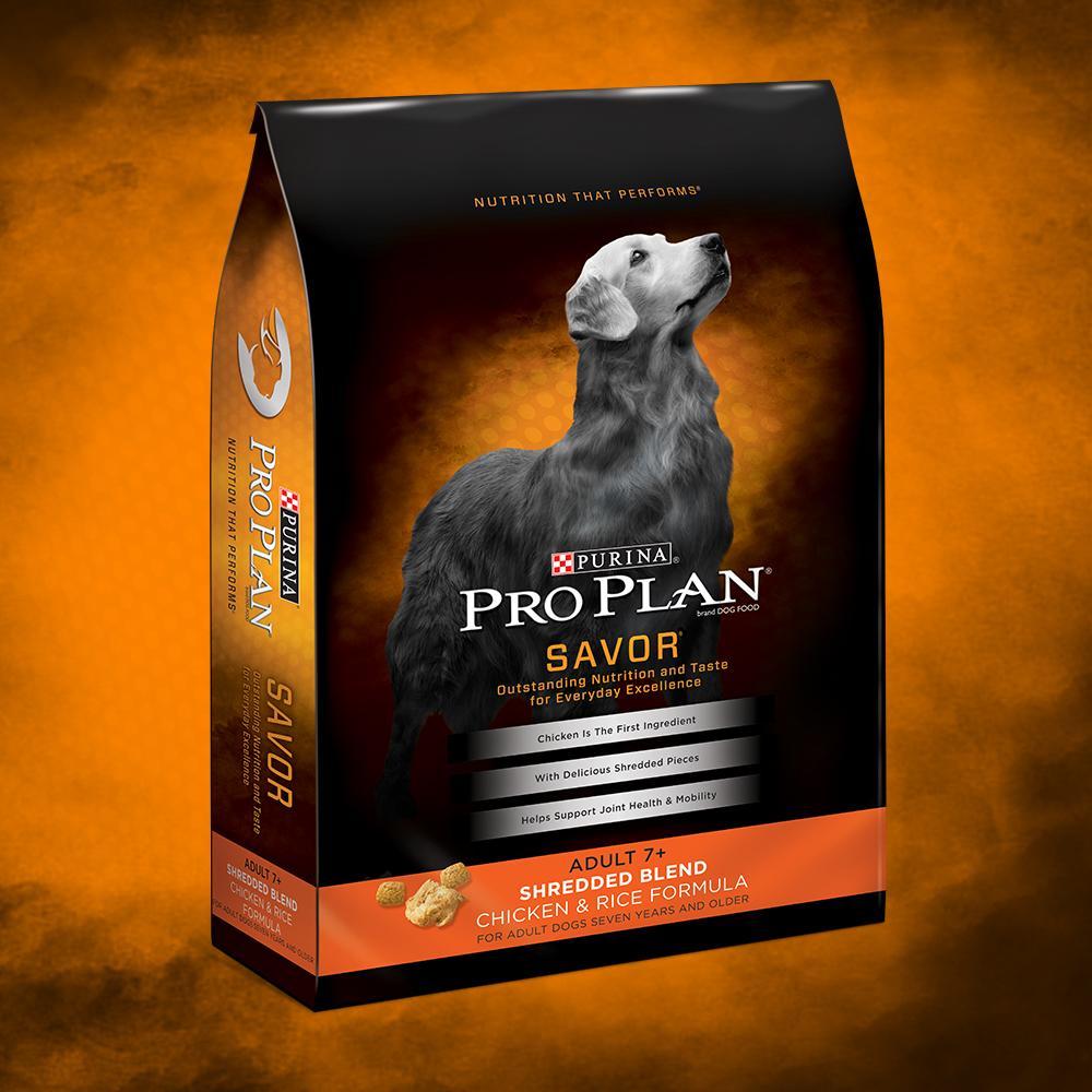 Purina Pro Plan Dry Dog Food, Savor, Shredded Blend Adult