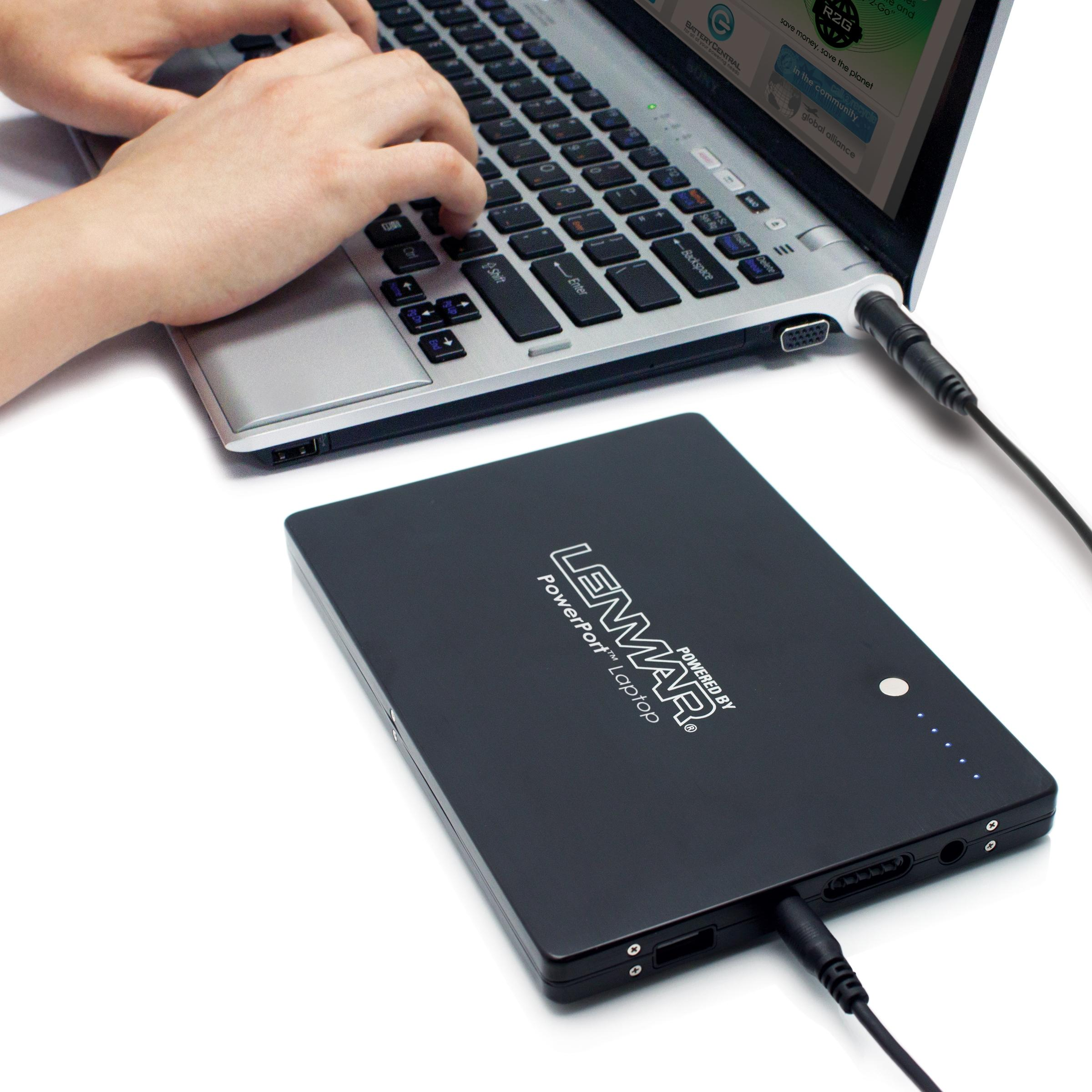 Amazon.com: Lenmar PowerPort External Notebook and Laptop Battery