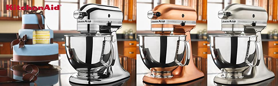 Kitchenaid custom metallic series 5 quart tilt head stand mixer - Copper pearl kitchenaid mixer ...