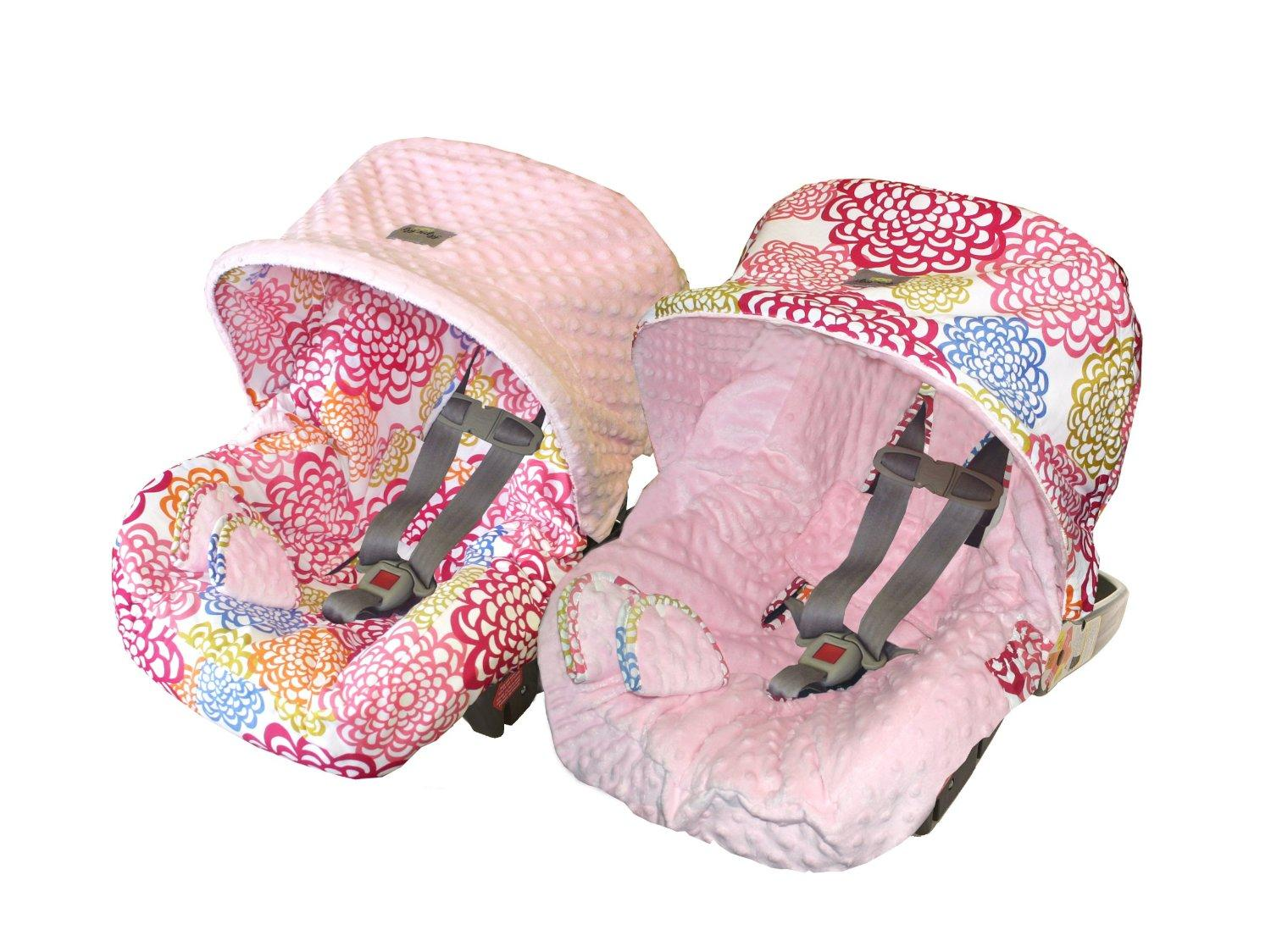 Itzy Ritzy Car Seat Cover Fresh Bloom