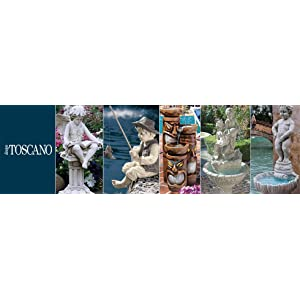 design toscano, bronze garden statues, bronze fountains, lost wax casting