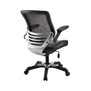 Office Chair Sleek Modern Padded Comfortable Black