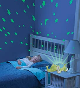 Summer Infant Slumber Buddies Baby Soother Green Elephant Night ...:Tranquil Lights,Lighting