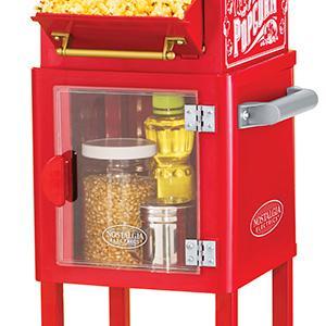 free standing popcorn machine