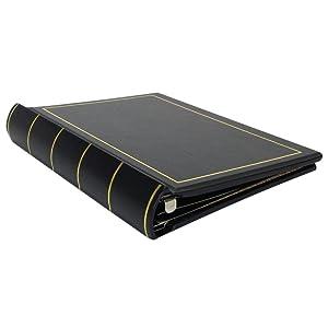 Corporate Minute Book, Minute Book, Wilson Jones, black minute book