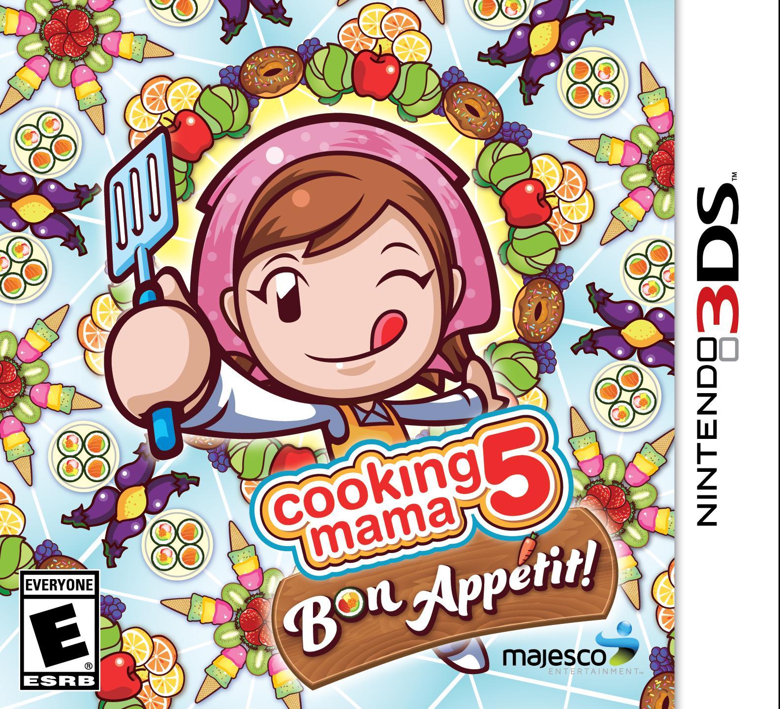 amazon com cooking mama 5 bon appetit nintendo 3ds