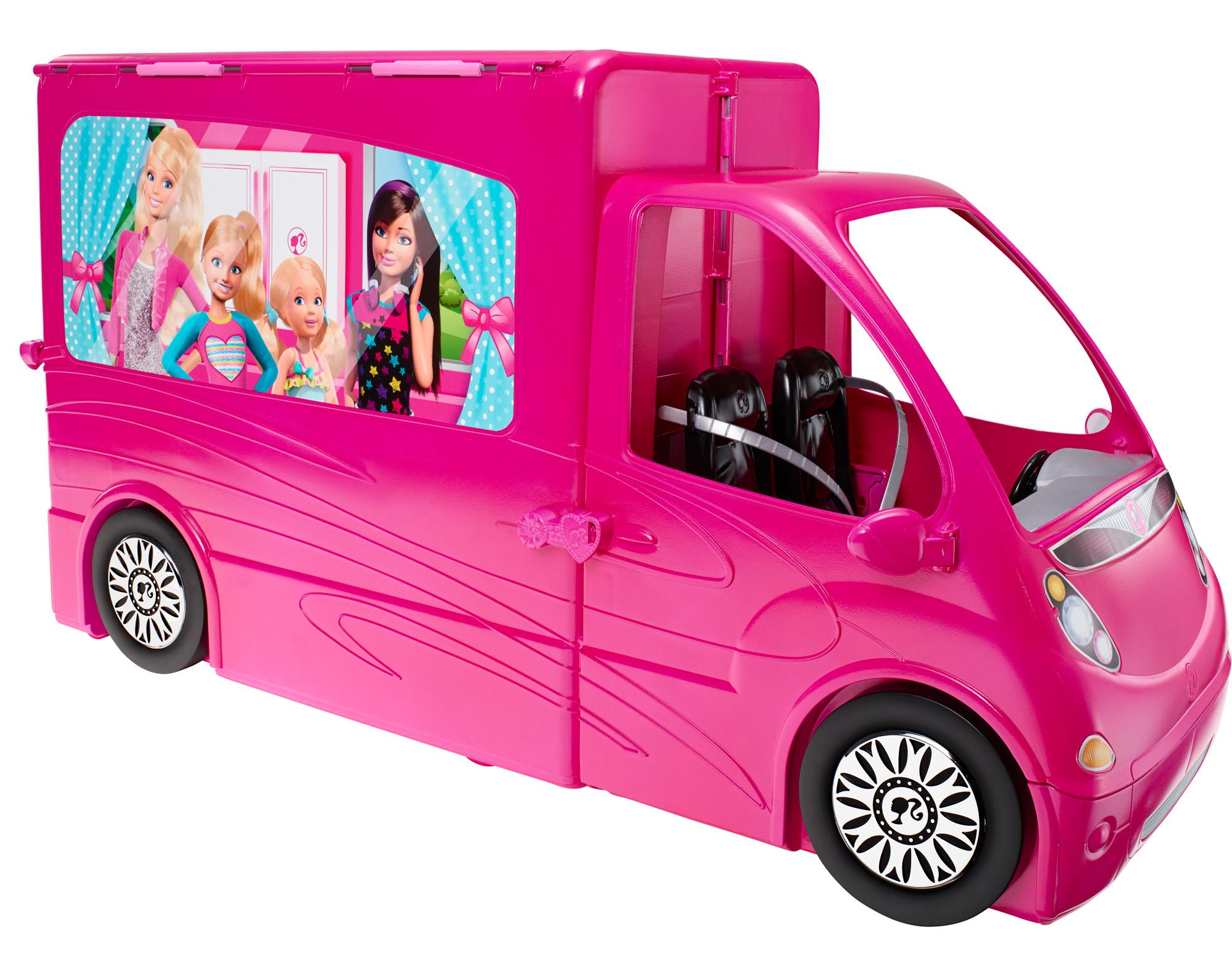 Mattel Barbie Sisters Doll Dream Life in The Dreamhouse Glam camper ...