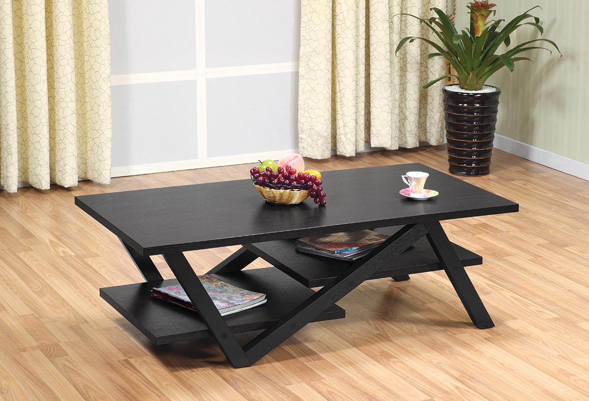 Furniture of america finley rectangular for Furniture of america coffee table