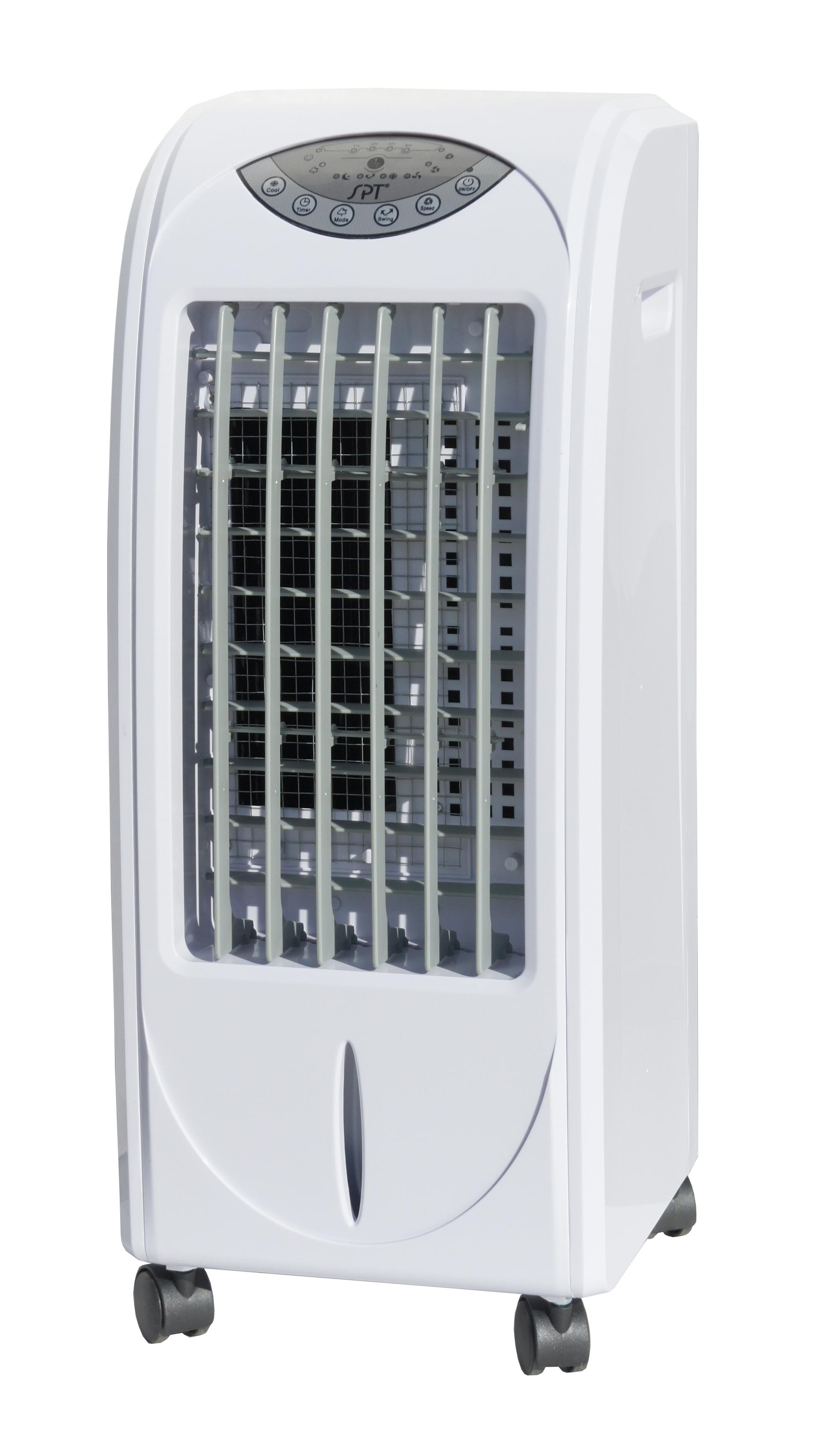 air cooler with 3d cooling pad 3 dimensional honeycomb cooling pad  #4A515B