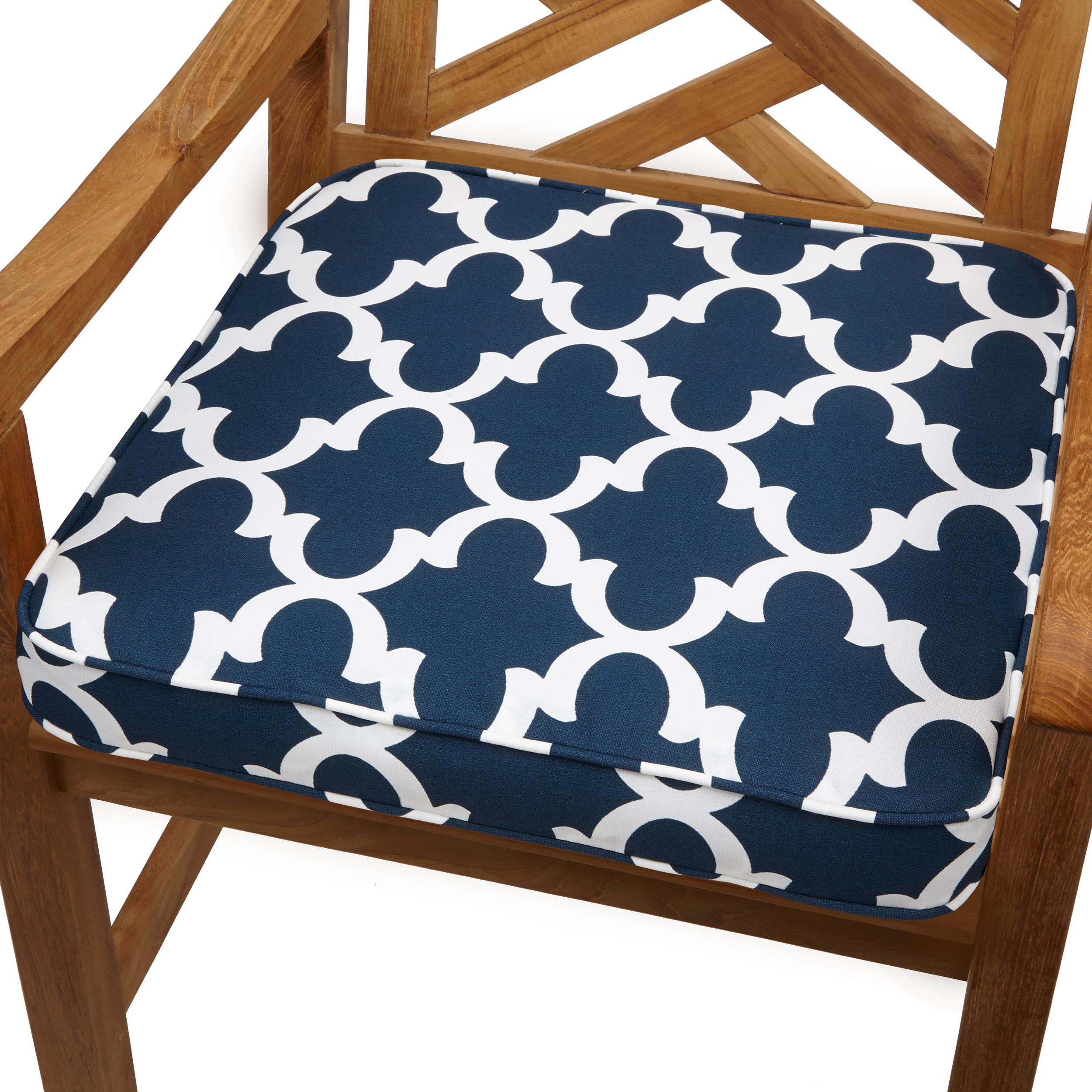 Amazon Mozaic Sabrina Corded Indoor Outdoor Chair Cushion 20 Inch Sca