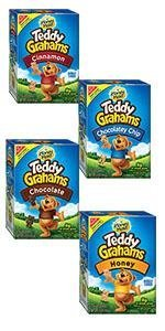 Amazon.com : Teddy Grahams Snacks, Chocolate Chip, 10
